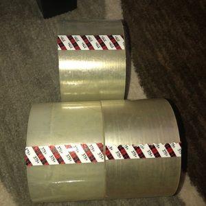 📌6pcs •3M Carton Sealing Tape📌
